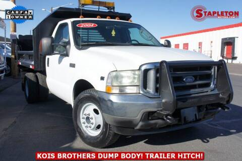 2004 Ford F-350 Super Duty for sale at STAPLETON MOTORS in Commerce City CO