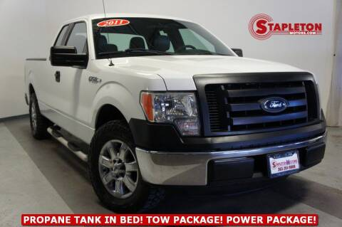 2011 Ford F-150 for sale at STAPLETON MOTORS in Commerce City CO