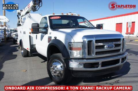 2009 Ford F-550 Super Duty for sale at STAPLETON MOTORS in Commerce City CO