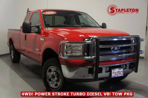 2006 Ford F-250 Super Duty for sale at STAPLETON MOTORS in Commerce City CO