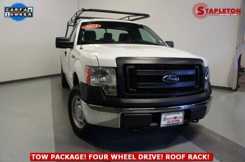 2013 Ford F-150 for sale at STAPLETON MOTORS in Commerce City CO