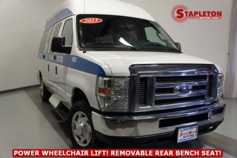2011 Ford E-Series Cargo E-150 for sale at STAPLETON MOTORS in Commerce City CO