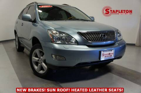 2007 Lexus RX 350 for sale at STAPLETON MOTORS in Commerce City CO