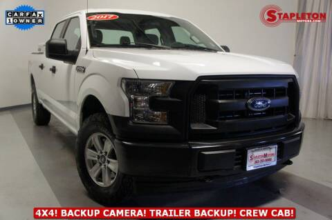 2017 Ford F-150 for sale at STAPLETON MOTORS in Commerce City CO