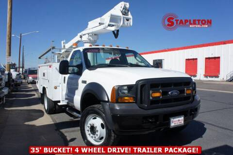2006 Ford F-450 Super Duty for sale at STAPLETON MOTORS in Commerce City CO