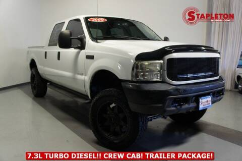 2000 Ford F-350 Super Duty for sale at STAPLETON MOTORS in Commerce City CO