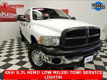 2005 Dodge Ram Pickup 2500 for sale in Commerce City, CO