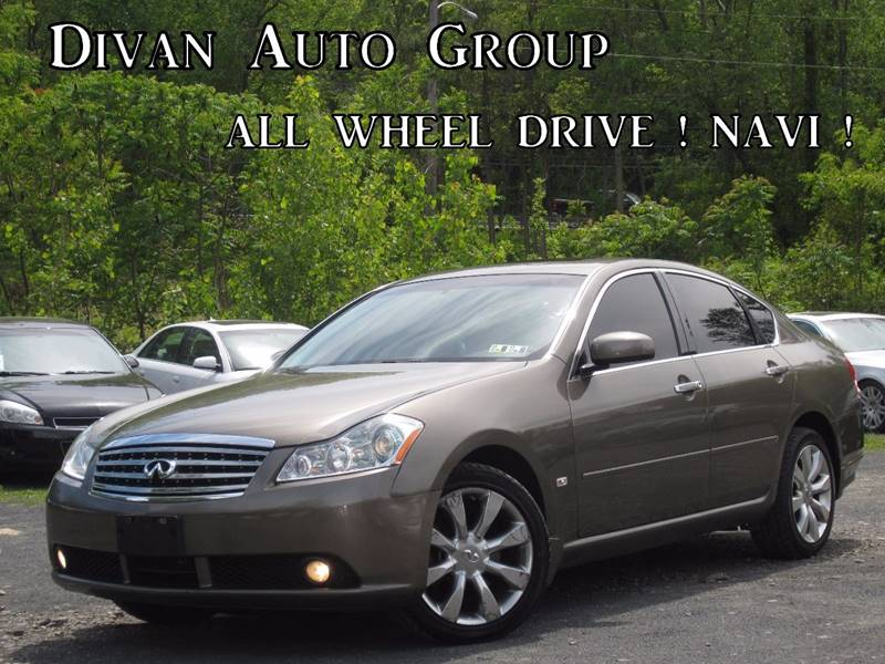 2007 Infiniti M35 Awd X 4dr Sedan In Feasterville Pa Divan Auto Group