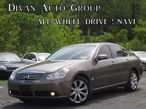 2007 Infiniti M35 for sale at Divan Auto Group in Feasterville PA