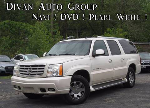 2005 Cadillac Escalade ESV for sale at Divan Auto Group in Feasterville PA