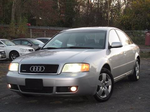 2002 Audi A6 for sale at Divan Auto Group in Feasterville PA
