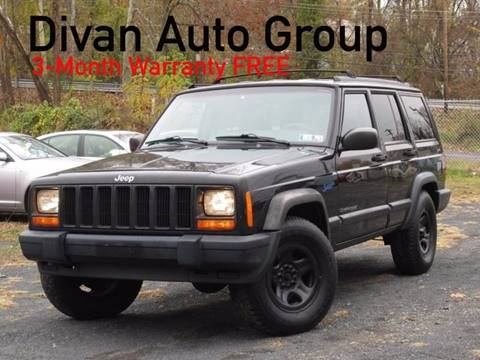 1998 Jeep Cherokee for sale at Divan Auto Group in Feasterville PA