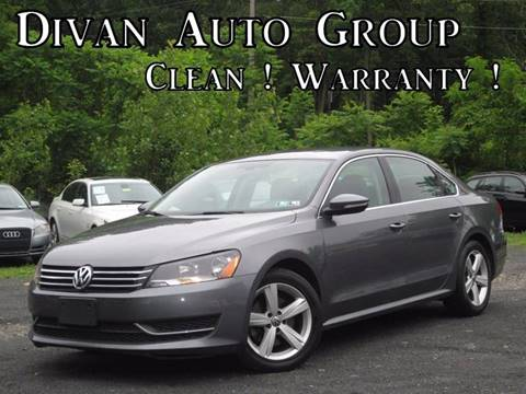 2012 Volkswagen Passat for sale at Divan Auto Group in Feasterville PA