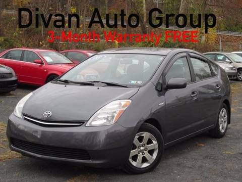 2008 Toyota Prius for sale at Divan Auto Group in Feasterville PA