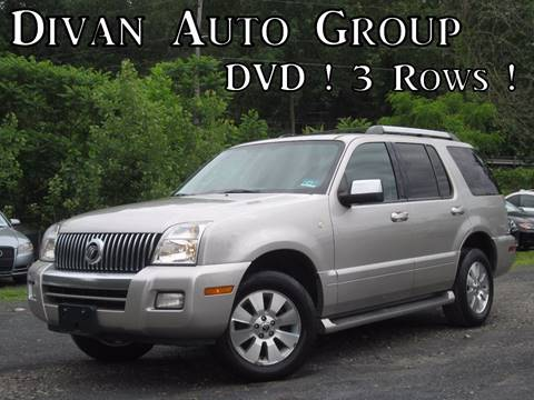 2006 Mercury Mountaineer for sale at Divan Auto Group in Feasterville PA