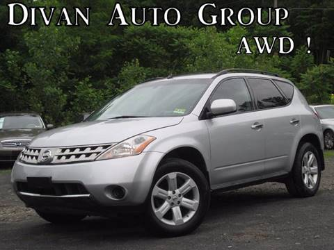 2006 Nissan Murano for sale at Divan Auto Group in Feasterville PA