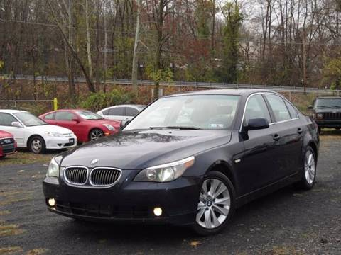 2005 BMW 5 Series for sale at Divan Auto Group in Feasterville PA