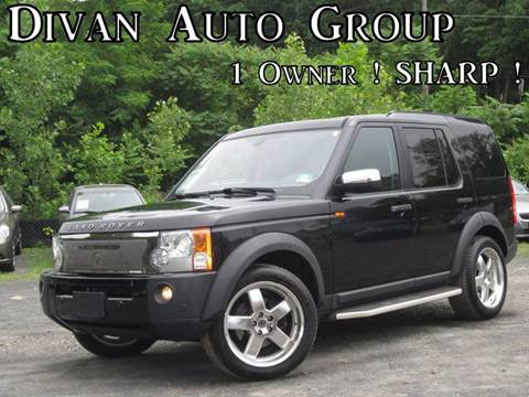 2008 Land Rover LR3 for sale at Divan Auto Group in Feasterville PA
