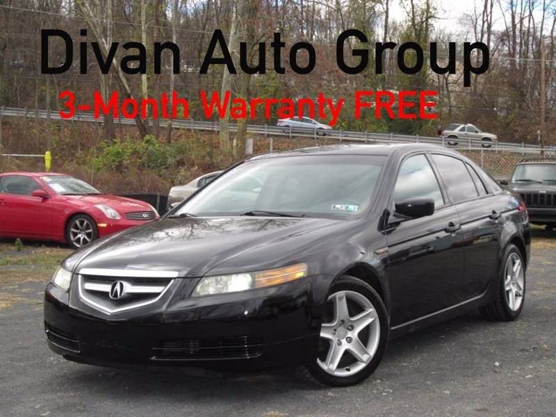 2004 Acura TL for sale at Divan Auto Group in Feasterville PA