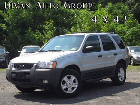 2004 Ford Escape for sale at Divan Auto Group in Feasterville PA