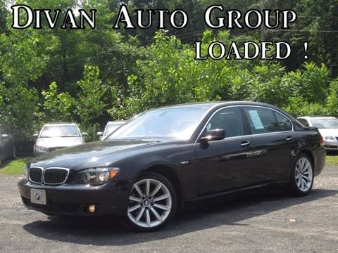 2008 BMW 7 Series for sale at Divan Auto Group in Feasterville PA