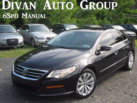 2011 Volkswagen CC for sale at Divan Auto Group in Feasterville PA
