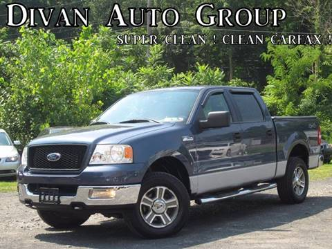 2005 Ford F-150 for sale at Divan Auto Group in Feasterville PA
