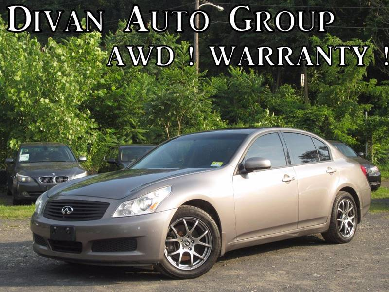 2008 Infiniti G35 for sale at Divan Auto Group in Feasterville Trevose PA