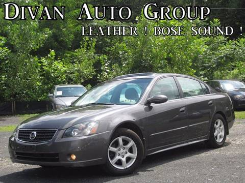 2005 Nissan Altima for sale at Divan Auto Group in Feasterville PA