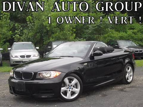 2008 BMW 1 Series for sale at Divan Auto Group in Feasterville PA