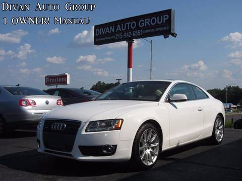 2011 Audi A5 for sale at Divan Auto Group in Feasterville PA