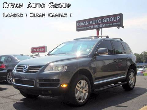 2004 Volkswagen Touareg for sale at Divan Auto Group in Feasterville PA