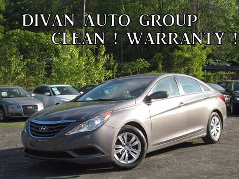 2011 Hyundai Sonata for sale at Divan Auto Group in Feasterville PA