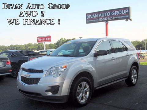 2011 Chevrolet Equinox for sale at Divan Auto Group in Feasterville PA