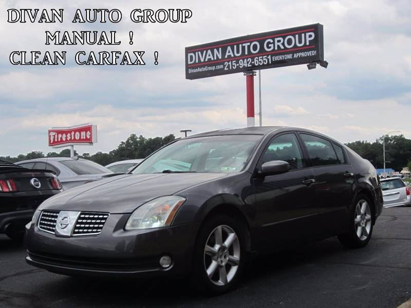 2006 Nissan Maxima 3.5 SE 4dr Sedan W/Manual   Feasterville PA