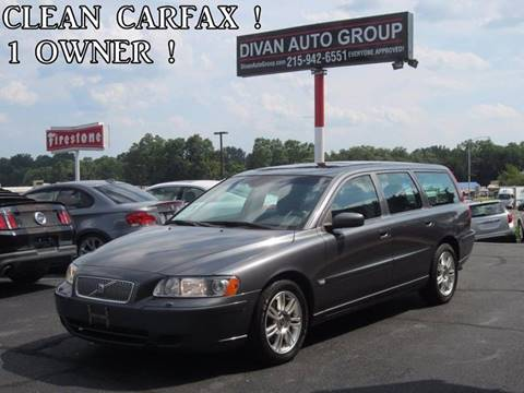 2006 Volvo V70 for sale at Divan Auto Group in Feasterville PA