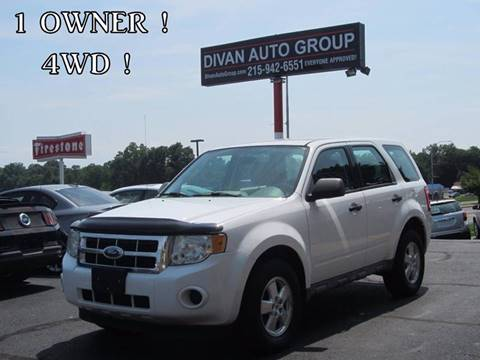 2009 Ford Escape for sale at Divan Auto Group in Feasterville PA