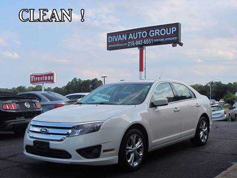2012 Ford Fusion for sale at Divan Auto Group in Feasterville PA
