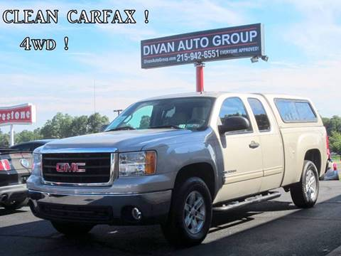 2007 GMC Sierra 1500 for sale at Divan Auto Group in Feasterville PA