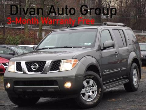 2005 Nissan Pathfinder for sale at Divan Auto Group in Feasterville Trevose PA