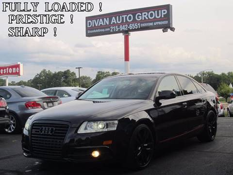2010 Audi A6 for sale at Divan Auto Group in Feasterville PA