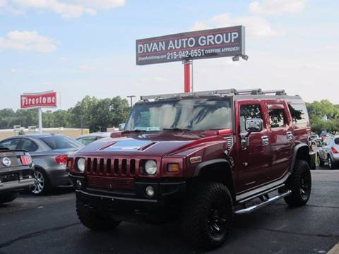 2005 HUMMER H2 for sale at Divan Auto Group in Feasterville PA