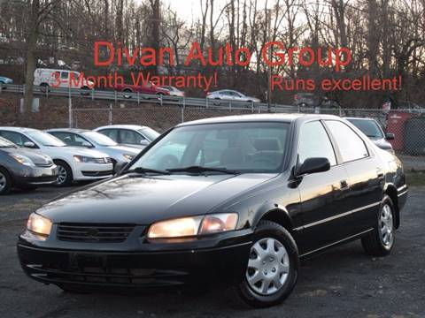 1999 Toyota Camry for sale at Divan Auto Group in Feasterville Trevose PA