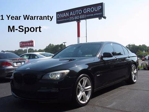 Bmw Used Cars For Sale Feasterville Divan Auto Group - 2012 bmw 745li