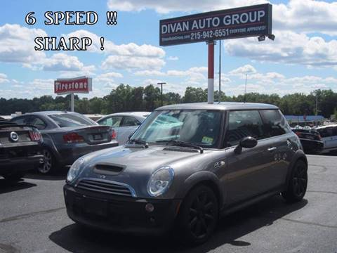 2003 MINI Cooper for sale at Divan Auto Group in Feasterville PA