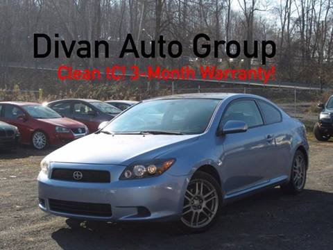 2008 Scion tC for sale at Divan Auto Group in Feasterville Trevose PA