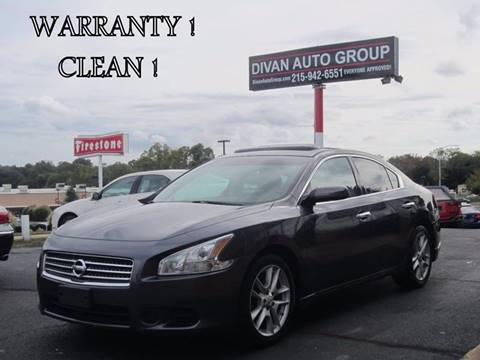 2009 Nissan Maxima for sale at Divan Auto Group in Feasterville PA
