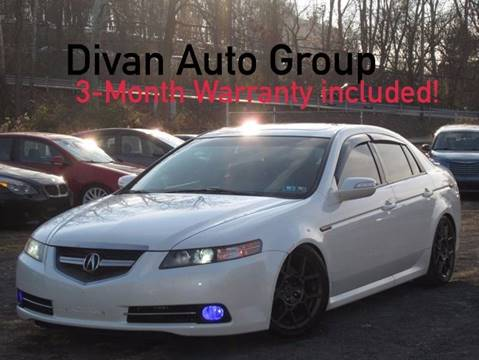 2008 Acura TL for sale at Divan Auto Group in Feasterville PA