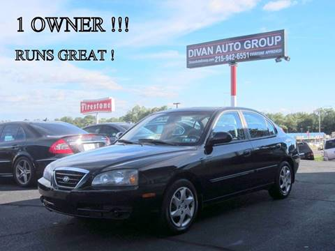2005 Hyundai Elantra for sale at Divan Auto Group in Feasterville PA