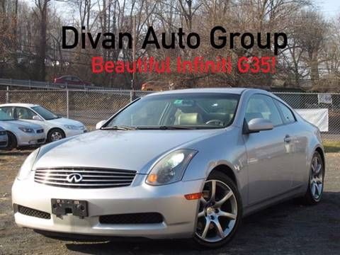 2003 Infiniti G35 for sale at Divan Auto Group in Feasterville PA